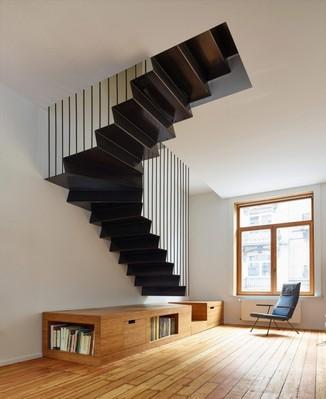 Aplicação de Textura para Escada Recanto dos Colibris - Textura para Sala