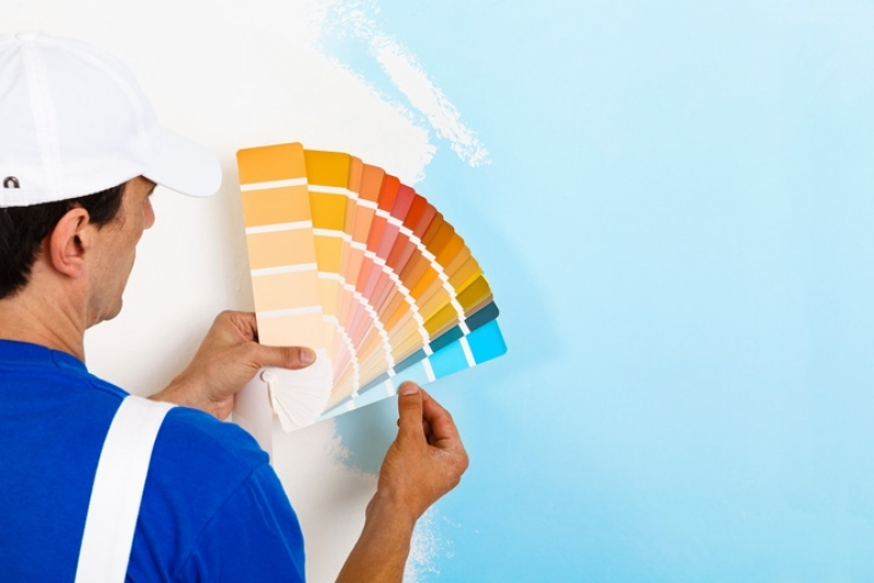 Serviços de Pintura e Reparos Parque Santa Amélia - Serviço de Pintura Industrial