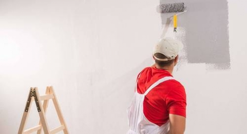 Serviços de Pintura em Casas Potuverá - Serviço de Pintura Comercial