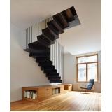 aplicação de textura para escada Parque Santo Antônio